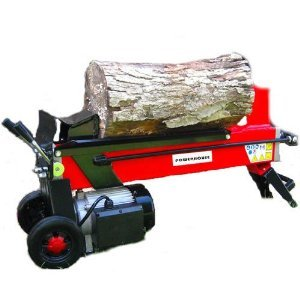 image of electric log splitter