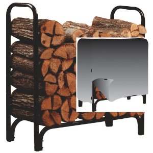 Panacea Deluxe Log Rack with Cover