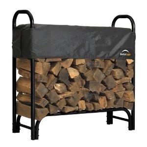 ShelterLogic Firewood Rack with Cover