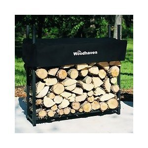 Woodhaven 3ft Firewood Rack with Cover