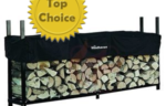 Woodhaven 8ft Firewood Rack with Cover