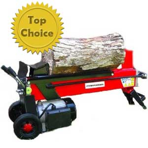 powerhouse electric log splitter