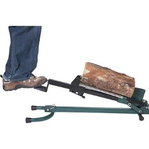 Quality Craft Foot-Operated Log Splitter (1.5-Ton)