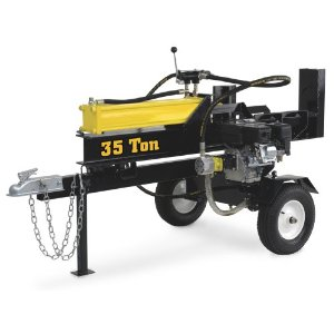 Steele Products Gas Powered Log Splitter - 35-Ton (SP-LS35)