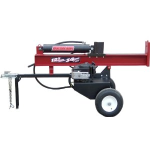 Swisher Gas Log Splitter (34-Ton) with Electric Starter