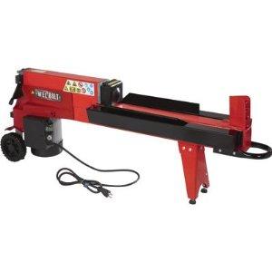 Horizontal Electric Log Splitter