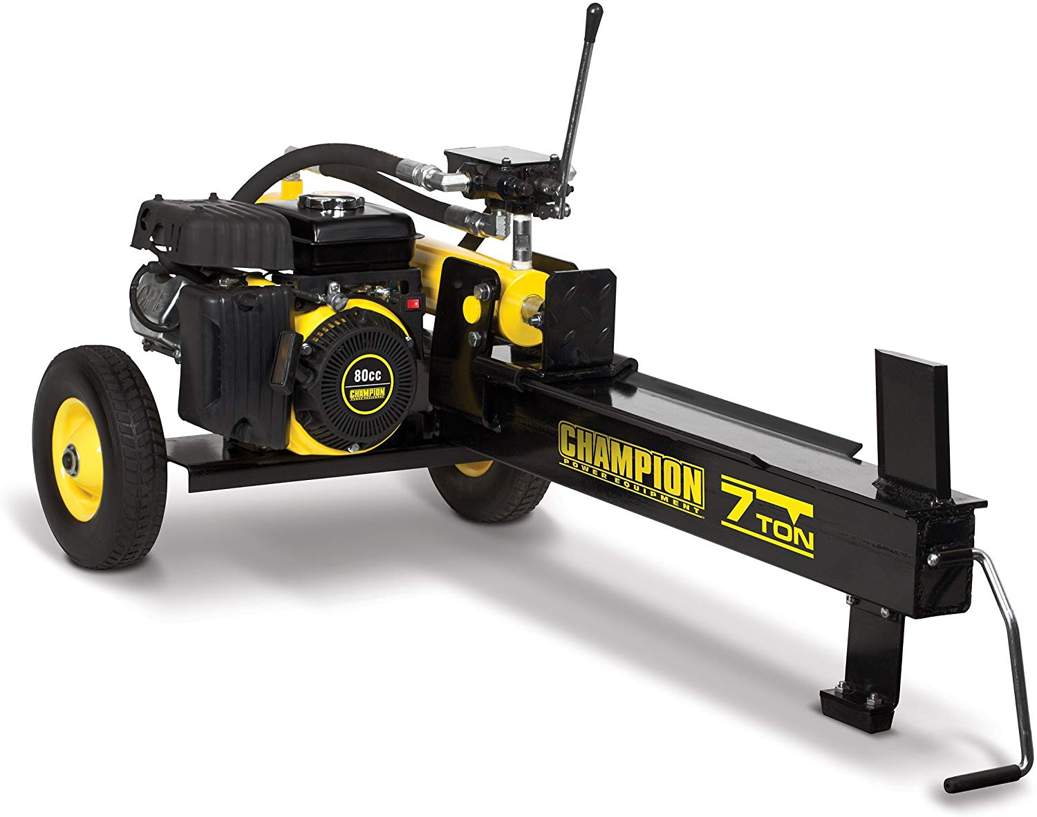 Champion 7-Ton Compact Horizontal Gas Log Splitter with Auto Return