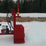 PowerSplit Gas Log Splitter Self-Propelled Buggy