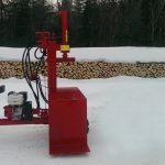 PowerSplit Gas Log Splitter Self-Propelled Buggy