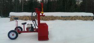 PowerSplit Self Propelled Gas Log Splitter