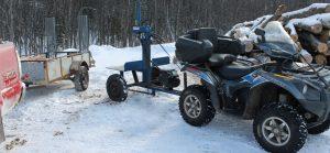 PowerSplit Tow Behind Gas Log Splitter
