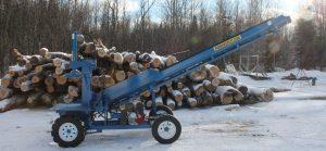 PowerSplit Single Station Log Splitter