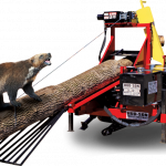 HUD-SON Wolverine A Firewood Processor