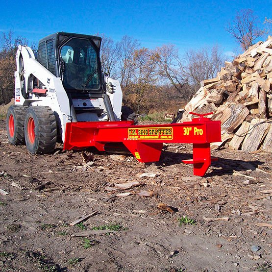TM Pro 2 Skid Steer Log Splitter Attachment