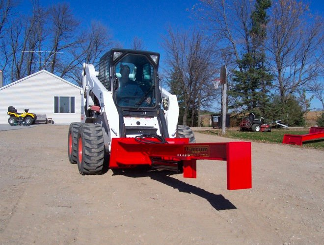 TM Warrior Skid Steer Log Splitter Attachment