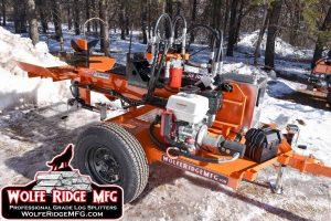 Wolfe Ridge MFG Commercial Log Splitter