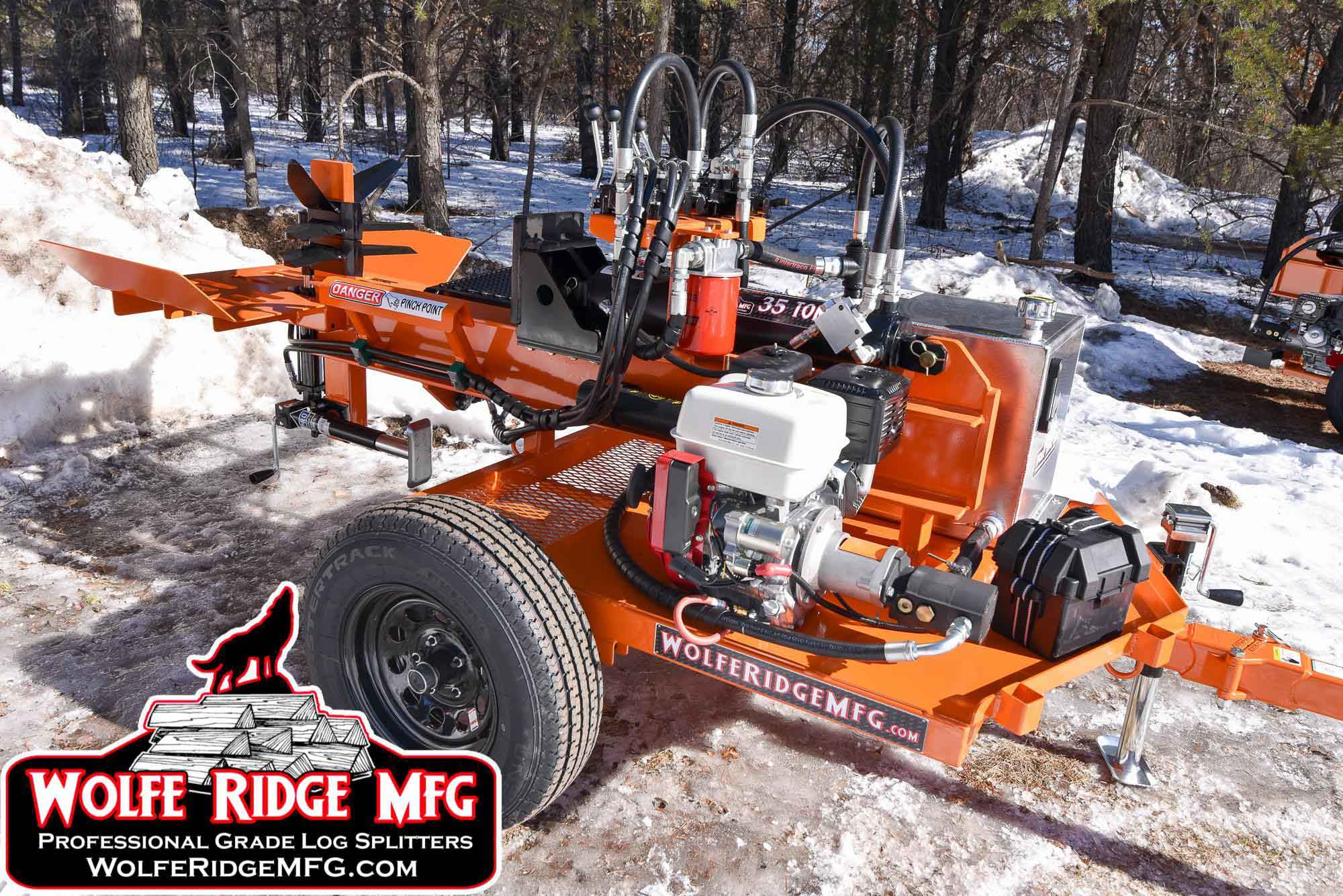 Wolfe Ridge MFG Commercial Log Splitter