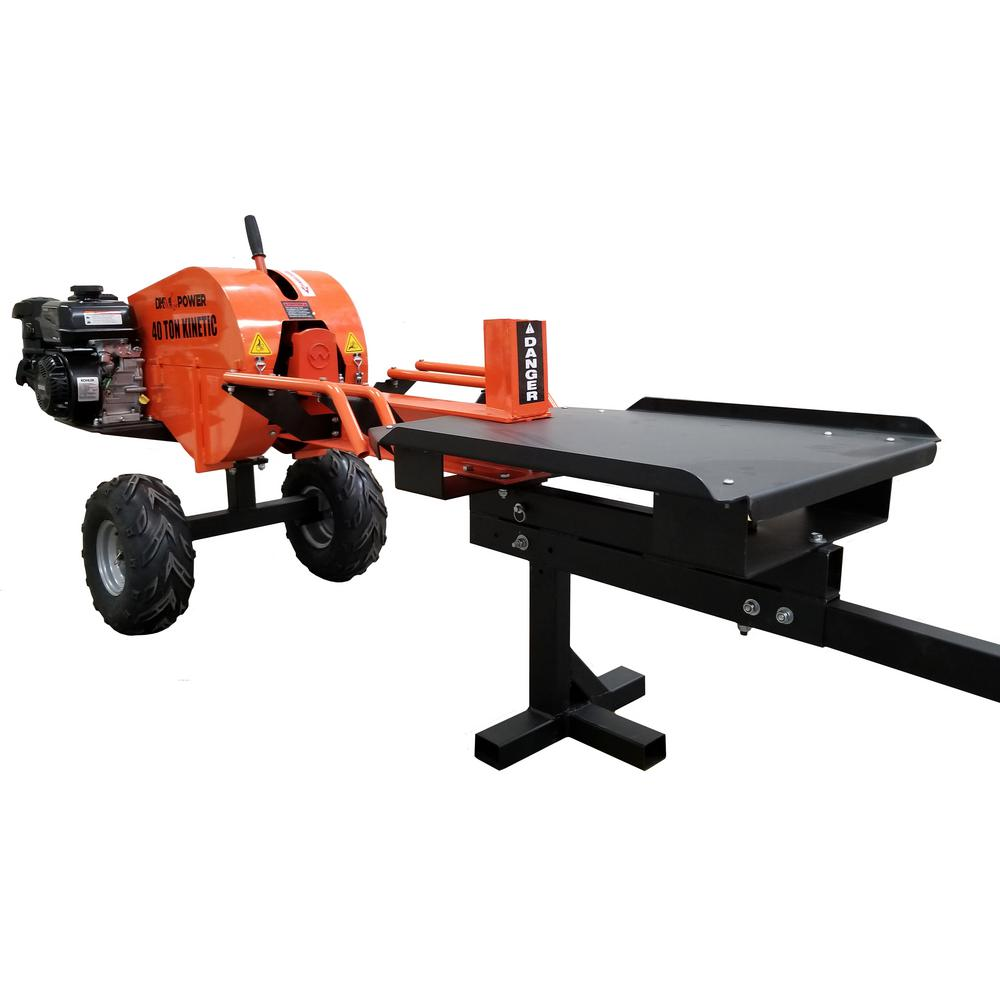 DK2 Power 40 Ton Horizontal Gas Log Splitter