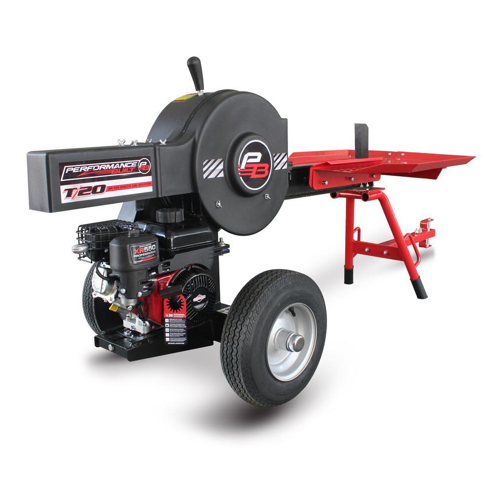 Performance Built 20 Ton Horizontal Gas Log Splitter