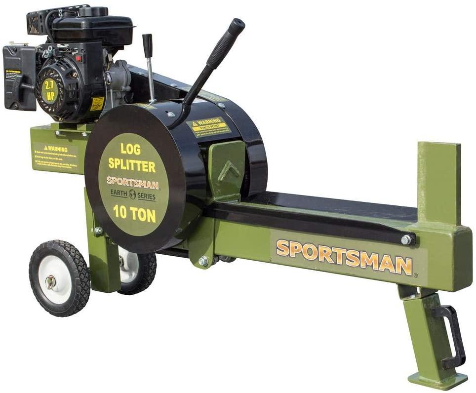 Sportsman 10 Ton Horizontal Gas Log Splitter
