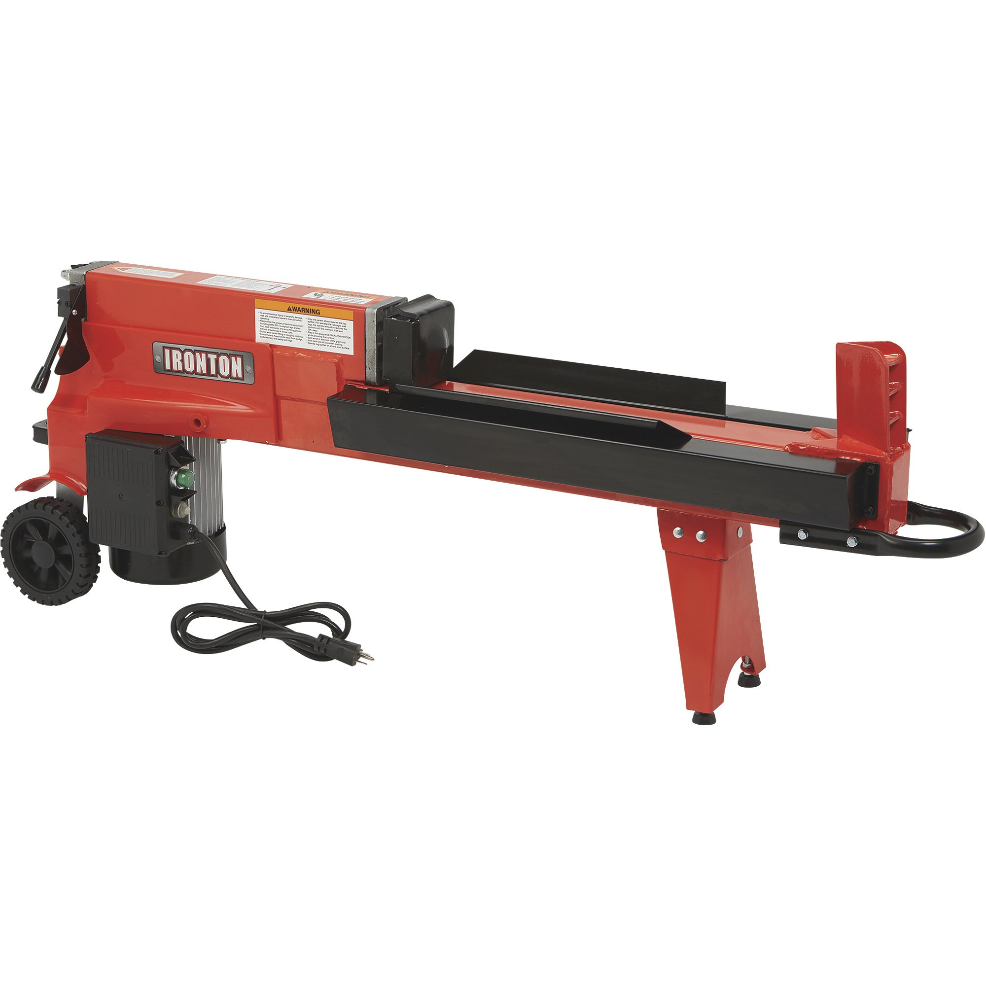 Ironton Electric 5 Ton Horizontal Log Splitter