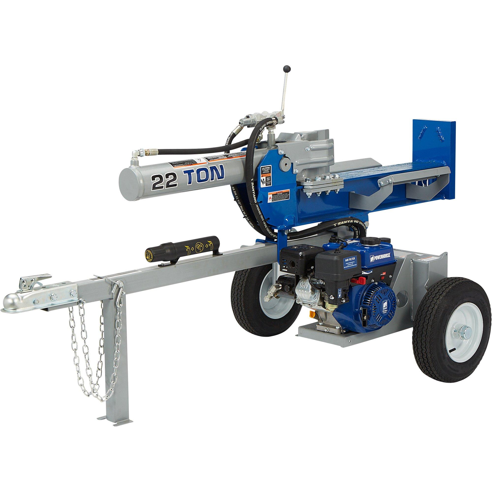 Powerhorse Gas 22 Ton Horizontal/Vertical Log Splitter