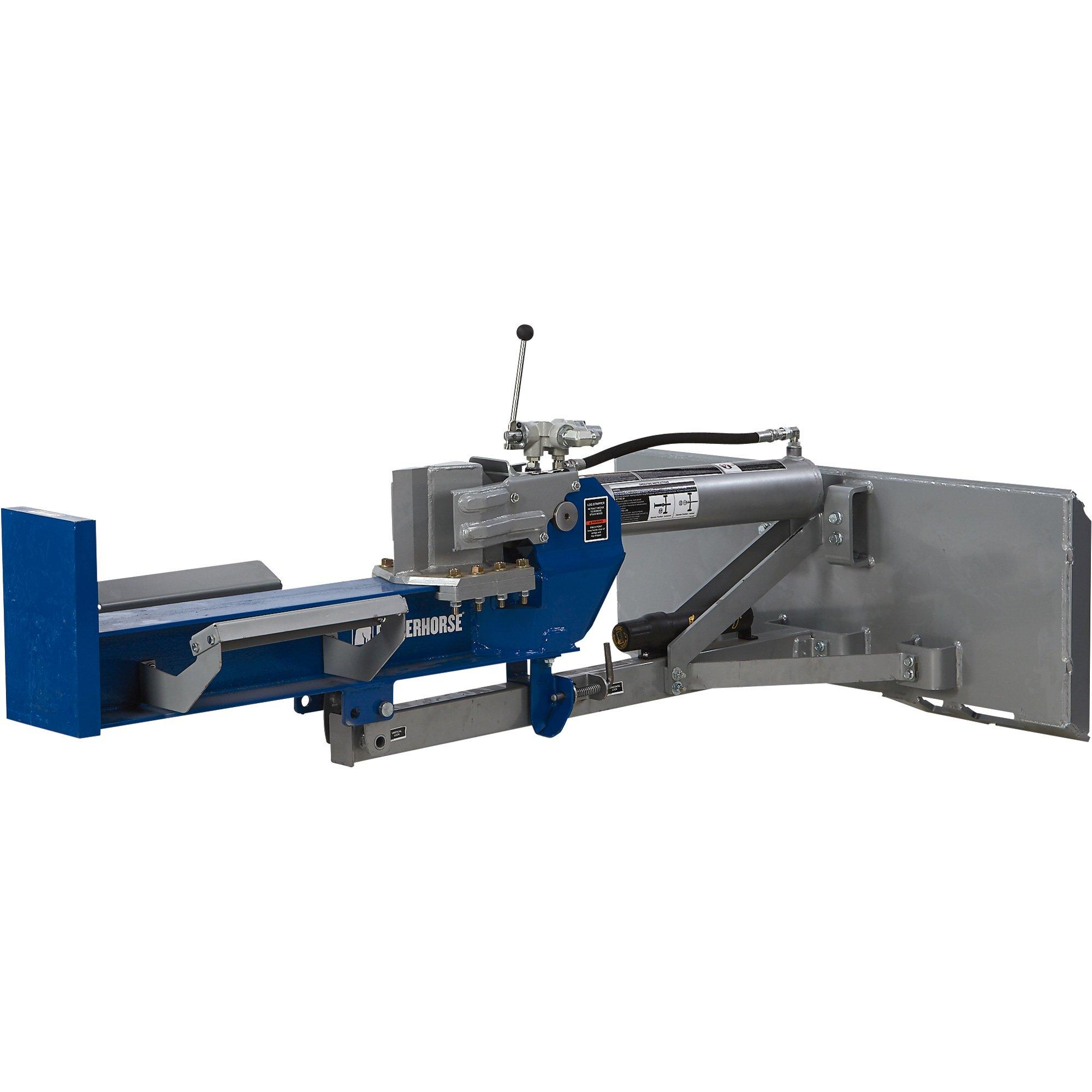 Powerhorse Skid Steer 22 Ton Horizontal/Vertical Log Splitter